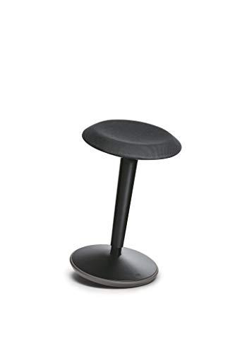 Sedus se:fit, Hocker, Stehhocker, Stehsitz, Stehhilfe, schwarz, Kunststoff, 53-80 cm