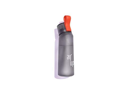 air up® Starter-Set - 1 x Trinkflasche BPA-frei Tritan 650 ml, 5 x Pods Fruchtaromen - Für Aromatisiertes Wasser, 0 Zucker, 0 Kalorien - Anthrazit