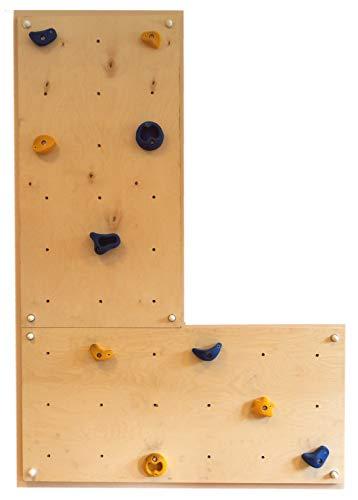 Gartenpirat Indoor Kletterwand IW2 Kinder-Klettern im Haus Wohnung Kinderzimmer