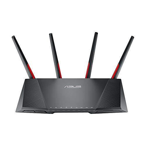 Asus DSL-AC68VG VOIP Modem Router (DE-Version, WiFi 5 AC2300 MU-MIMO, Anrufbeantworter, Gigabit LAN, AiProtection, Dual-Core CPU, Multifunktion USB 3.0)