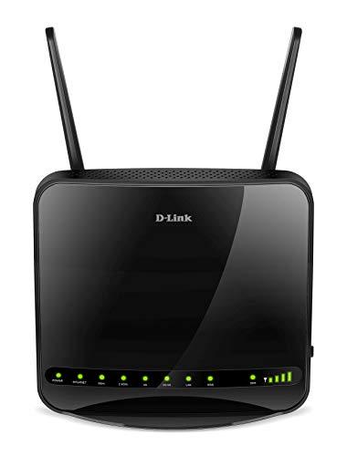 D-Link DWR-953 Gigabit LTE Router (Wireless AC1200, 4G LTE/3G mit bis zu 150 Mbit/s)
