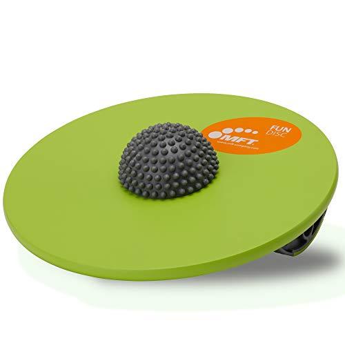 MFT Fun Disc I Balance Board aus hochwertigem Holz für Fitness,- Gleichgewichtstraining und Physiotherapie I Ideal für Kinder, Senioren und Erwachsene (ab 4 Jahren)