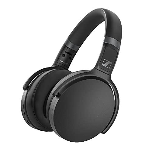 Sennheiser HD 450BT Kabelloser Kopfhörer mit aktiver Geräuschunterdrückung, schwarz