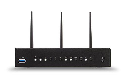 Turris Omnia 2 GB Wi-Fi   2 GB RAM, hi-performance, open source & WiFi / NAS / printserver / virtual server, CPU 1.6 GHz dual-core, 5x GLAN, 2x USB 3.0