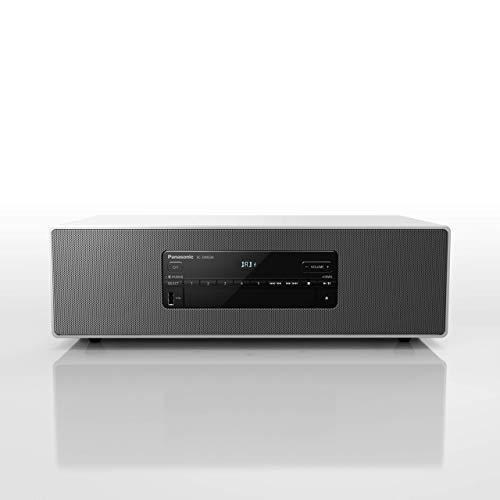 Panasonic SC-DM504EG-W Micro HiFi in weiß (40 Watt RMS, Digital DAB+, CD, UKW, Bluetooth, USB, AUX)