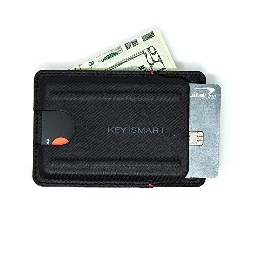 KeySmart Slim Wallet (Schwarz)