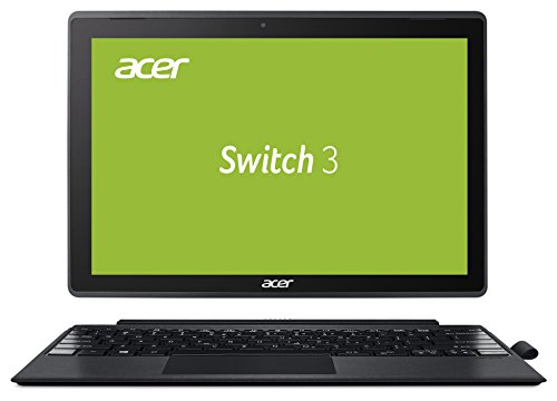 Acer Switch 3 SW312-31-P8VE 31 cm (12,2 Zoll Full-HD) Convertible Notebook (Intel Pentium N4200 Quad-Core, 4GB RAM, 128GB eMMC, Intel HD, Win 10 Home im S Modus) grau, Acer Active Pen