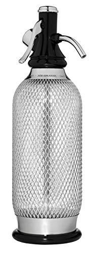 iSi 1060 Sodamaker Classic, 1,0 L, Wassersprudler für Sprudelwasser, Sprudler mit PEN-Flasche mit Edelstahl-Netz, Kohlensäure für Wasser, Soda Maker, Bar Zubehör im Vintage Look