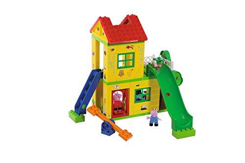 BIG-Bloxx Peppa Pig Play House - Baumhaus, Construction Set, BIG-Bloxx Set bestehend aus Peppa, Schorsch und Haus, 75 Teile, Multicolour, für Kinder ab 18 Monaten