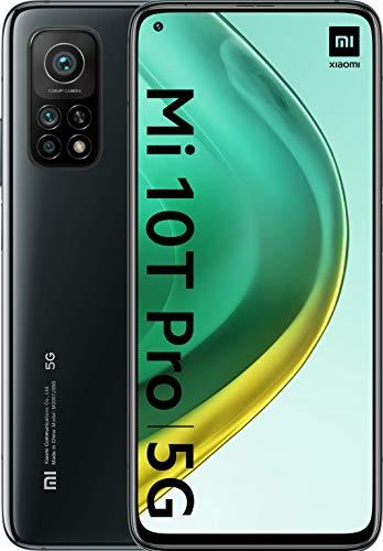Xiaomi Mi 10T Pro - Smartphone 128GB, 8GB RAM, Dual Sim, Alexa Hands-Free, Cosmic Black