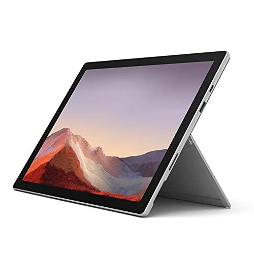 Microsoft Surface Pro 7, 12,3 Zoll 2-in-1 Tablet (Intel Core i3, 4GB RAM, 128GB SSD, Win 10 Home) Platin Grau