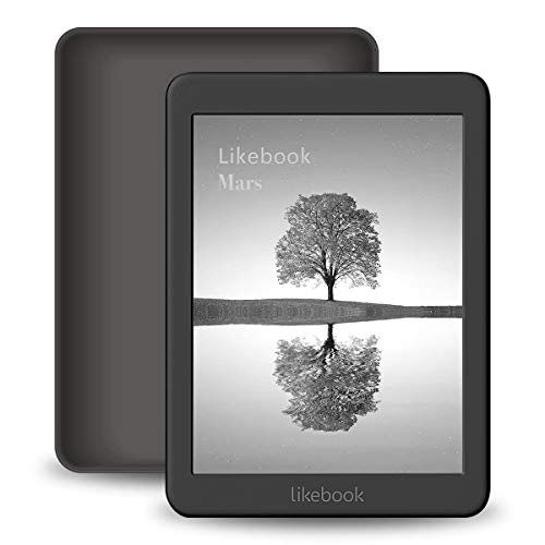 Likebook Mars E-Reader, 7,8-Zoll-Touchscreen, 300PPI, integriertes warmes/kaltes Licht, integriertes Audible, Google Play Store, Android 8.1