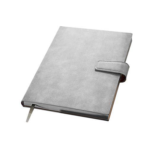XUANLAN Klassisches Notizbuch Notizbuch-Tagebuch Journal Magnetic Leder Notizblock mit Stift Slot Qualität Notebooks und Zeitschriften for Männer und Frauen von dem erstaunlichen Büro Langlebig