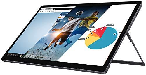 auvisio Touch Monitor: Mobiler Full-HD-IPS-Touchscreen mit 39,6 cm / 15,6', USB C, HDMI, Akku (Touchscreen Monitor)