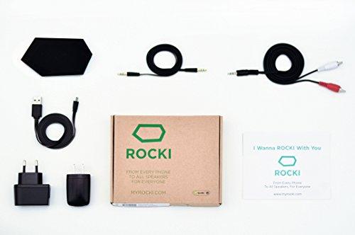 Rocki RK-P101-01 Play WiFi-Musik-Adapter für Audiosystem schwarz