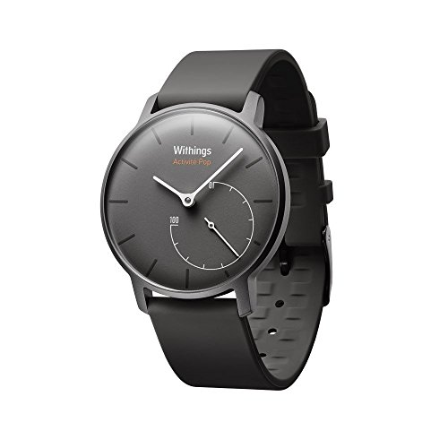 Withings Aktivitätstracker Pop Smart Watch Aktivitäts und Schlaf tracker, Shark Grau, 70077401