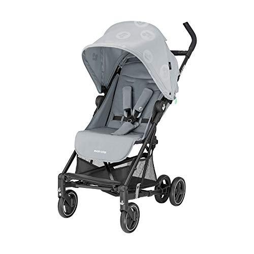 Maxi-Cosi Mara Buggy, sehr leichter und kompakter Kinderbuggy mit 3 Liegepositionen, geeignet ab der Geburt bis ca. 4 Jahre (max. 22 kg), Brave Grey