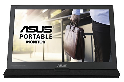 ASUS MB169C+ 15, 6 Zoll USB Typ-C Tragbarer Monitor, FHD (1920x1080), IPS, Flimmerfrei, Low Blue Light, TÜV zertifiziert, schwarz
