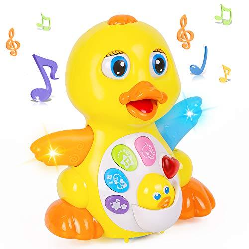 Thedttoy Tanzendes Musik Spielzeug Baby Toy Interaktives Kinder Spielzeug Musikalisches Lehrreiches Spielzeug Babyspielzeug für Kinder 1 2 Jahre Jungen und Mädchen