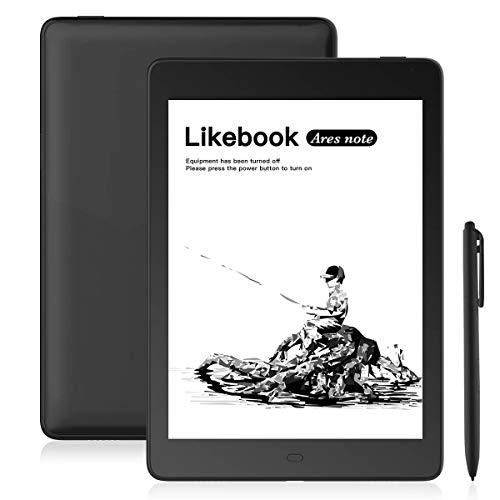 Likebook Ares-Note E-Reader, 7,8-Zoll-E-Ink-Carta-Bildschirm, Dual Touch, Handschrift, integriertes kaltes/warmes Licht, integriertes akustisches Signal, Android 8.1, 2 GB + 32 GB