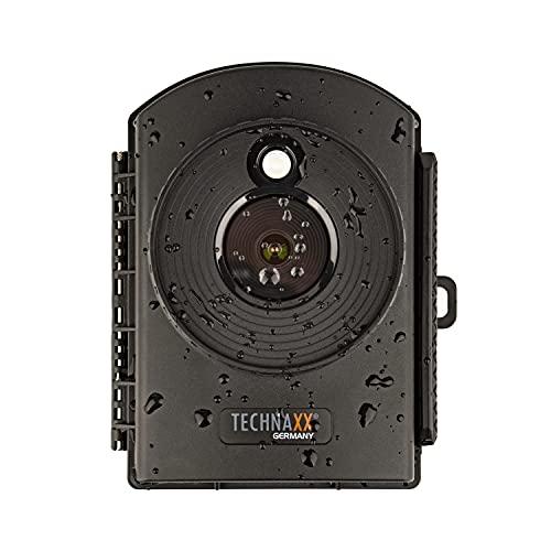 Technaxx - TX-164 Zeitraffer-Kamera Full HD - Zeitrafferkamera, Zeitrafferfoto, Baustelle, Haus, Heim, Garten, Überwachung, MicroSD, Batteriebetrieben - 6 Monate, Mikrofon, Ton, LED, Tag & Nacht.