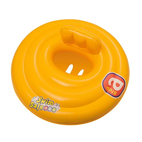 Bestway 32096 swimring Baby Float, Gelb, 65 cm diam