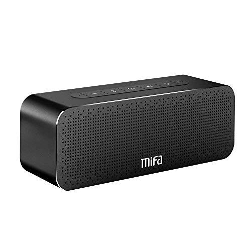 Bluetooth Lautsprecher 30W, MIFA A20 Soundbars Musikbox Soundbox TWS & DSP Technologie, Starkbass, 3,5mm Audioeingang, Micro SD Karte Slot, Mikrofons für iPhone