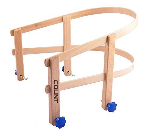 COLINT Schlittenlehne aus Holz Schlitten-Kindersitz Rückenlehne Sitzhilfe Lehne