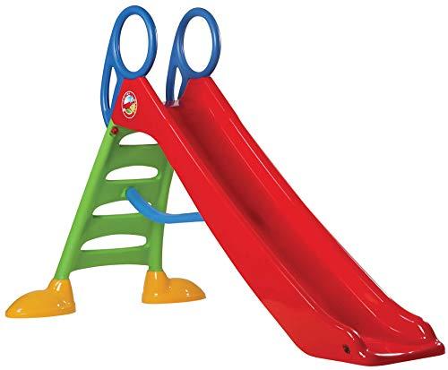 Dohany MEGA 2in1 Kinder Rutsche Wasserrutsche freistehend Rutschbahn Rutschlänge 200 cm rot/grün