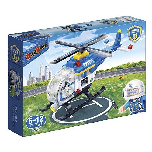 BanBao B7008 Polizei Hubschrauber Konstruktionsspielzeug