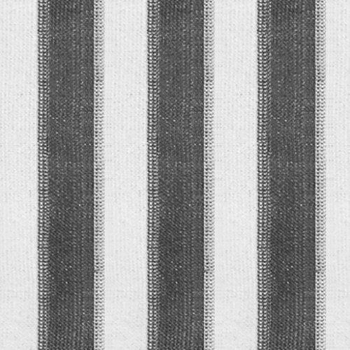 vidaXL Außenrollo Fensterrollo Verdunklungsrollo Sonnenschutzrollo Balkonrollo Außen Rollo Sichtschutz Senkrechtmarkise 140x230cm Anthrazit Weiß Gestreift