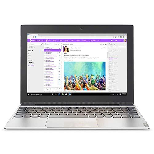 Lenovo Miix 320 25,7 cm (10,1 Zoll HD IPS Touch) Convertible Tablet-PC (Intel Atom Z8350, 4 RAM, 64 eMMC, Windows 10 Home) silber