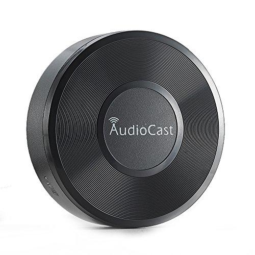 iEAST M5 Audiocast WLAN Music Adapter mit Streaming Dienste/Internet-Radio schwarz