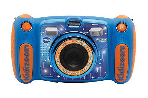 VtechKidizoom Duo 5.0Digitale Kamera für Kinder, 5MP, Farbdisplay, 2Objektive, Englische Version, blau