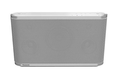 Panasonic SC-ALL8EG-W Wireless Multi-room Lautsprechersystem (Qualcomm AllPlay, Streaming, 80 Watt RMS, 12 cm Subwoofer) weiß