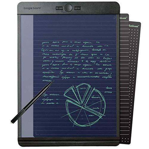 Boogie Board Zeichen-Tablett, Schreibtafel: Lernmittel, ideal für Notizen, Zeichnungspad, fühlt sich an wie Papier und Bleistift, 8,5 x 11 cm Tafelbuchstabe - 8,5 x 11