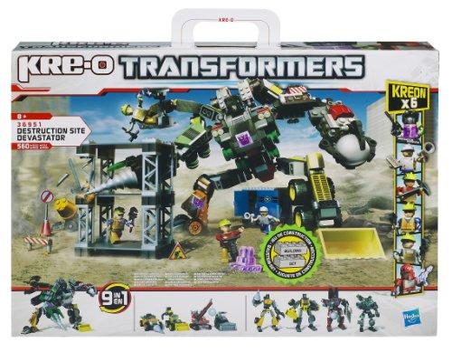 Hasbro 36951148 - KRE-O Transformers Destruction Site Devastator - Baukasten