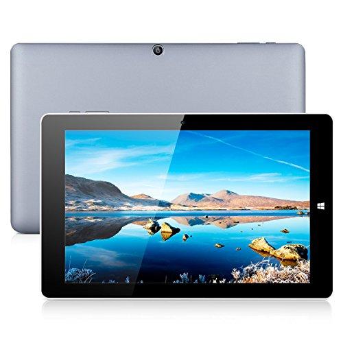 CHUWI Hi10 Pro - 10.1 Zoll Tablet PC Windows 10 Android 5.1 Dual System (Intel Cherry Trail Z8350 1.44GHz Quad-Core Prozessor, 4GB RAM, 64GB ROM, Dual Kamera, Blutooth, WiFi)