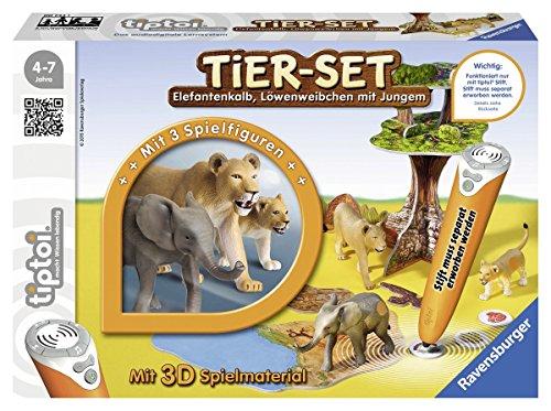 Ravensburger 00743 - tiptoi Tier-Set Löwen