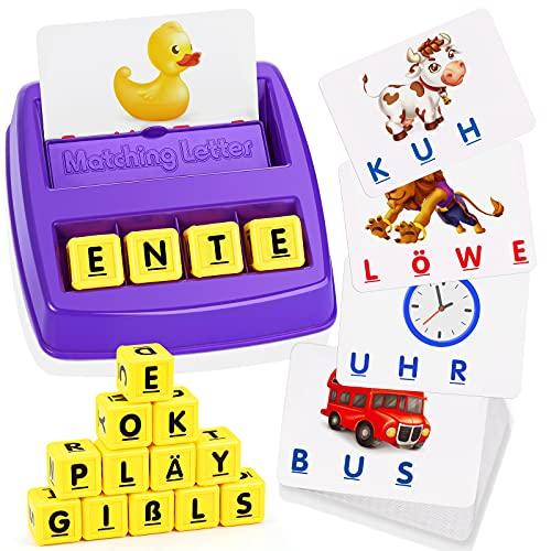 LET'S GOS! Geschenke für Mädchen ab 3 4 5 6 7 8 Jahre, Lernspielzeug ab 3-8 Jahre Spielzeug für Jungen 3-8 Jahre Geschenk Mädchen 3-8 Jahre Mädchen Spielzeug ab 3-8 Jahre