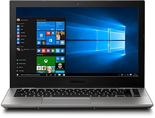 MEDION S3409 33,7 cm (13,3 Zoll) Full HD Laptop (Intel Core i7-7500U, 8GB RAM, 512GB SSD, Intel HD-Grafik, Windows 10)