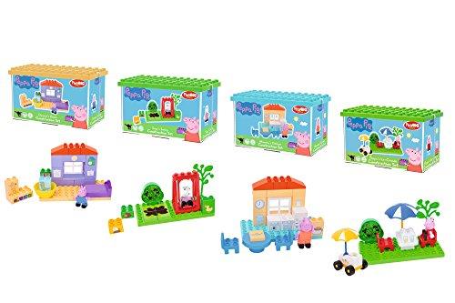 BIG Bloxx Peppa Pig Basic Sets, Einsteiger Set für Peppa Wutz Fans, Construction Set, BIG-Bloxx Set inklusive Spielfigur, für Kinder ab 18 Monaten