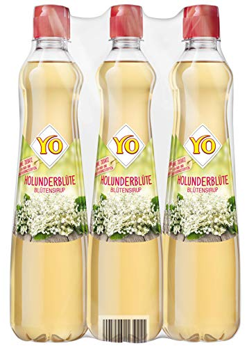 Yo Sirup Holunderblüte, 6er Pack, PET (6 x 700 ml)